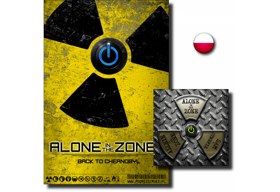 Alone in the zone 1+2 - DVD Deluxe - PL